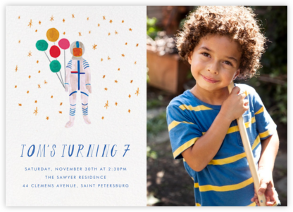 Three, Two, One (Photo) - Mr. Boddington's Studio - Kids' birthday invitations