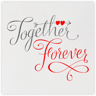 Together Forever - Paperless Post - Anniversary Cards