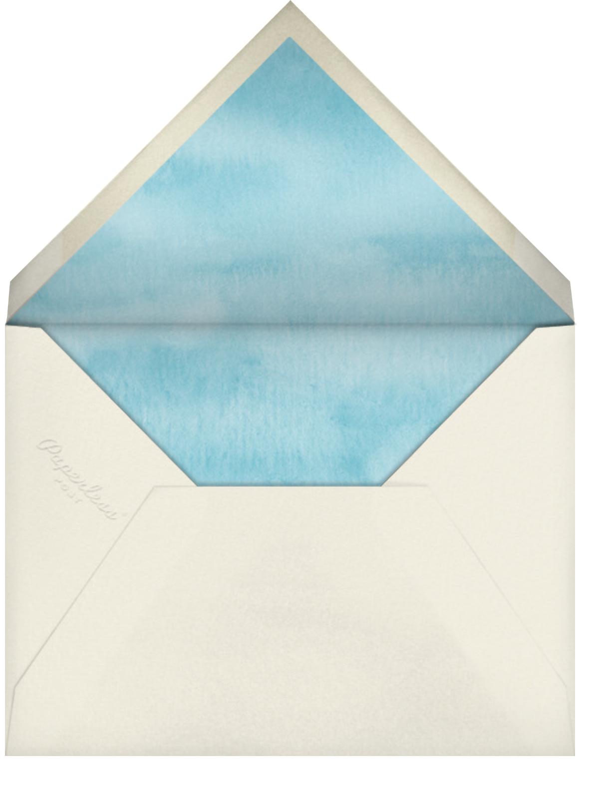 Dreidels and Gelt - Felix Doolittle - Hanukkah - envelope back