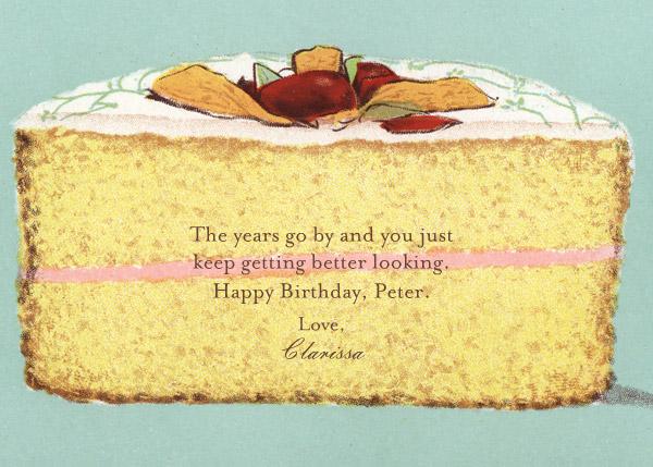 Cake - John Derian - Birthday cards