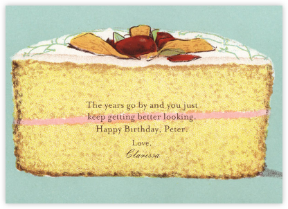 Cake - John Derian - Birthday Cards for Her