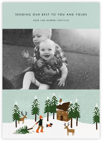 Christmas Cabin (Landscape Photo) - Fair | null