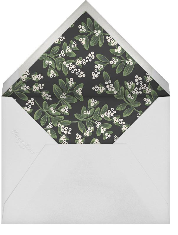 Mistletoe Accent Frame (Square Photo) - Rifle Paper Co. - Holiday Favorites - envelope back