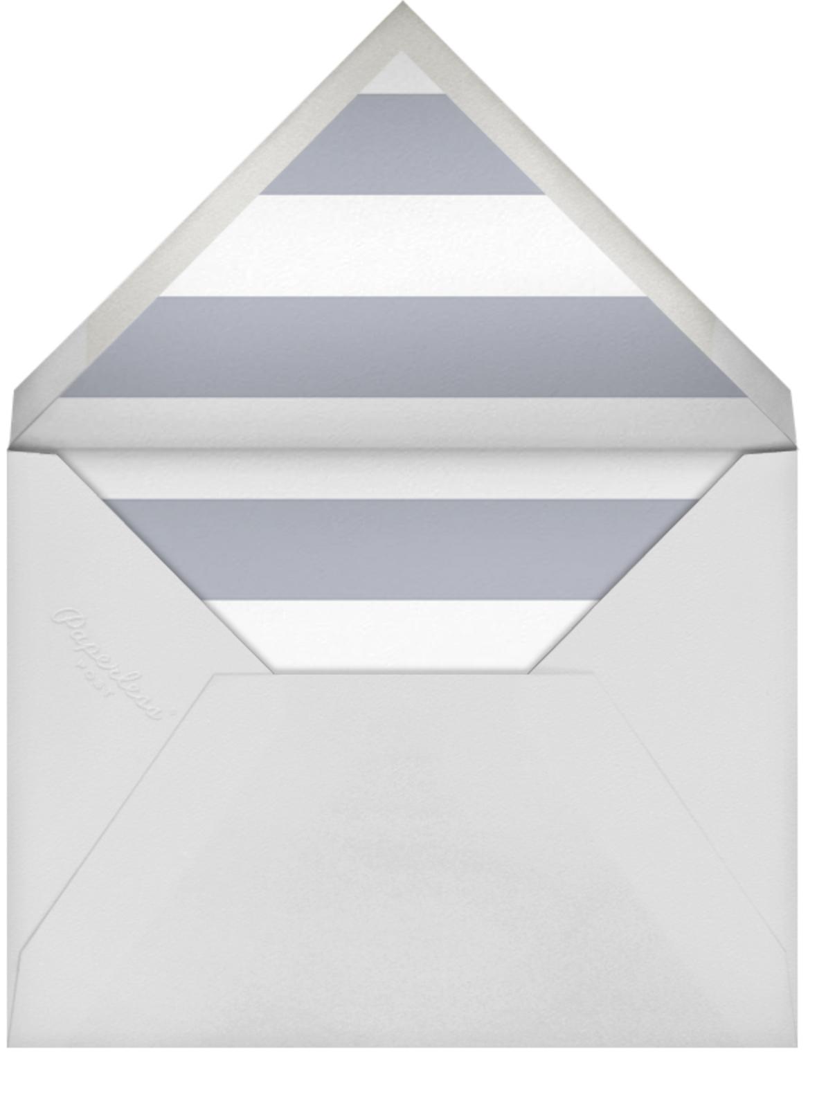 Big Dot Bridal - Silver - Sugar Paper - Bridal shower - envelope back