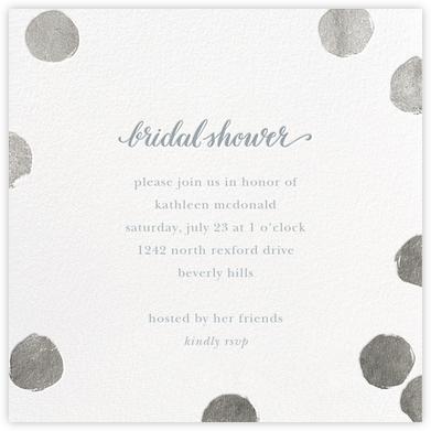 Big Dot Bridal - Silver - Sugar Paper -