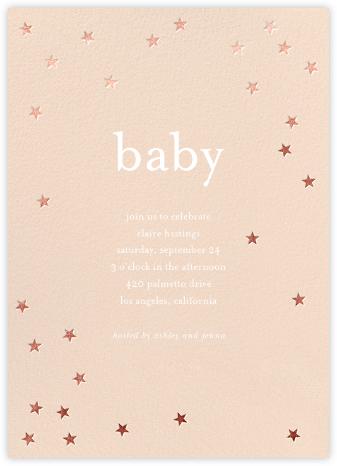 Scattered Stars - Pink/Rose Gold - Sugar Paper -