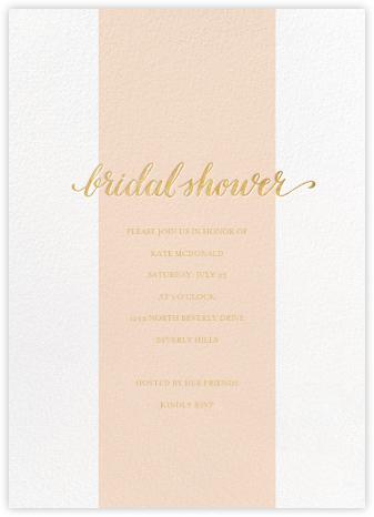 Bridal Stripe - Pink - Sugar Paper - Sugar Paper