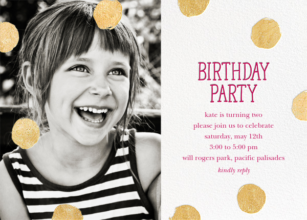 Baby First Birthday Invitations unitedarmyinfo