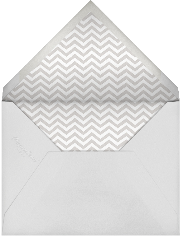 Friendly Beasts - Paperless Post - Baby shower - envelope back