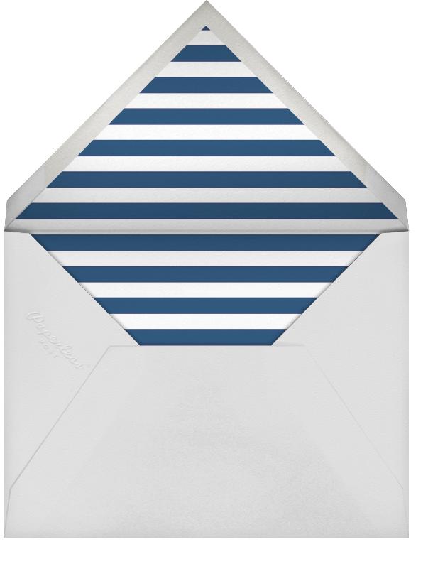 Scattered Dots - Dark Blue - Sugar Paper - Bar and bat mitzvah - envelope back