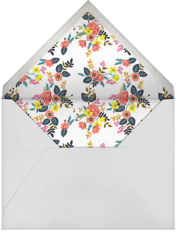 Birch Monarch (Thank You) - Pink - Rifle Paper Co. - Graduation thank you cards - envelope back