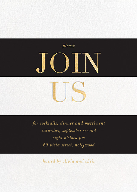 Corporate invitations online at Paperless Post