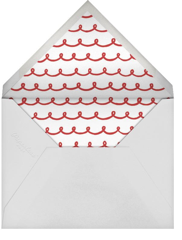 Sweet Snack List - Sugar Paper - Cookie swap - envelope back