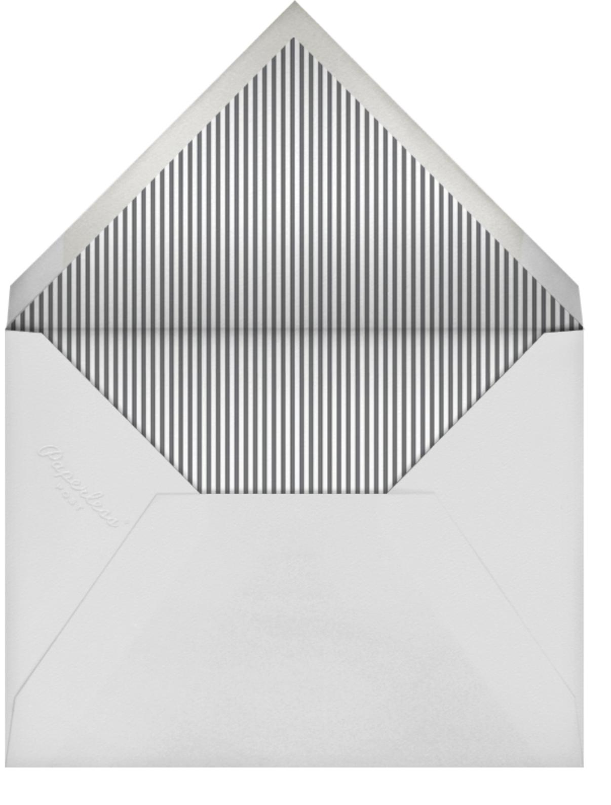Signature Party - Charcoal - Sugar Paper - General entertaining - envelope back