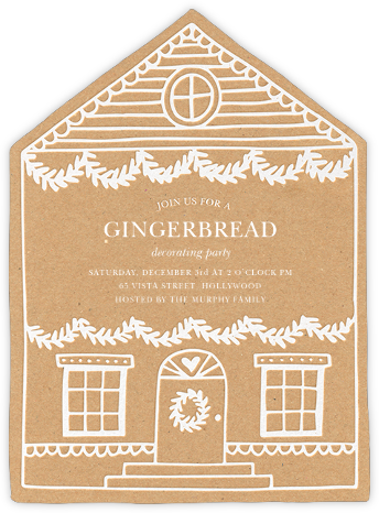 Gingerbread Homestead - Sugar Paper -