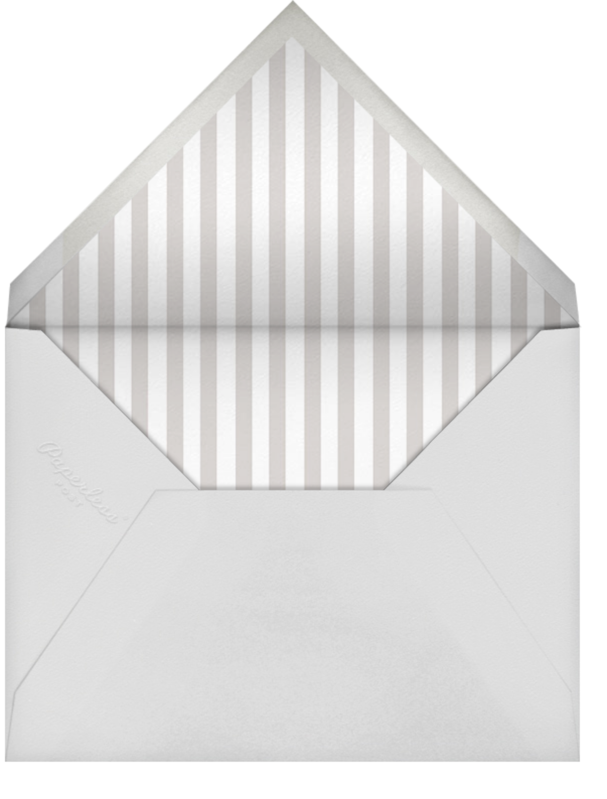 Swiss Dot Birthday - Sugar Paper - Adult birthday - envelope back