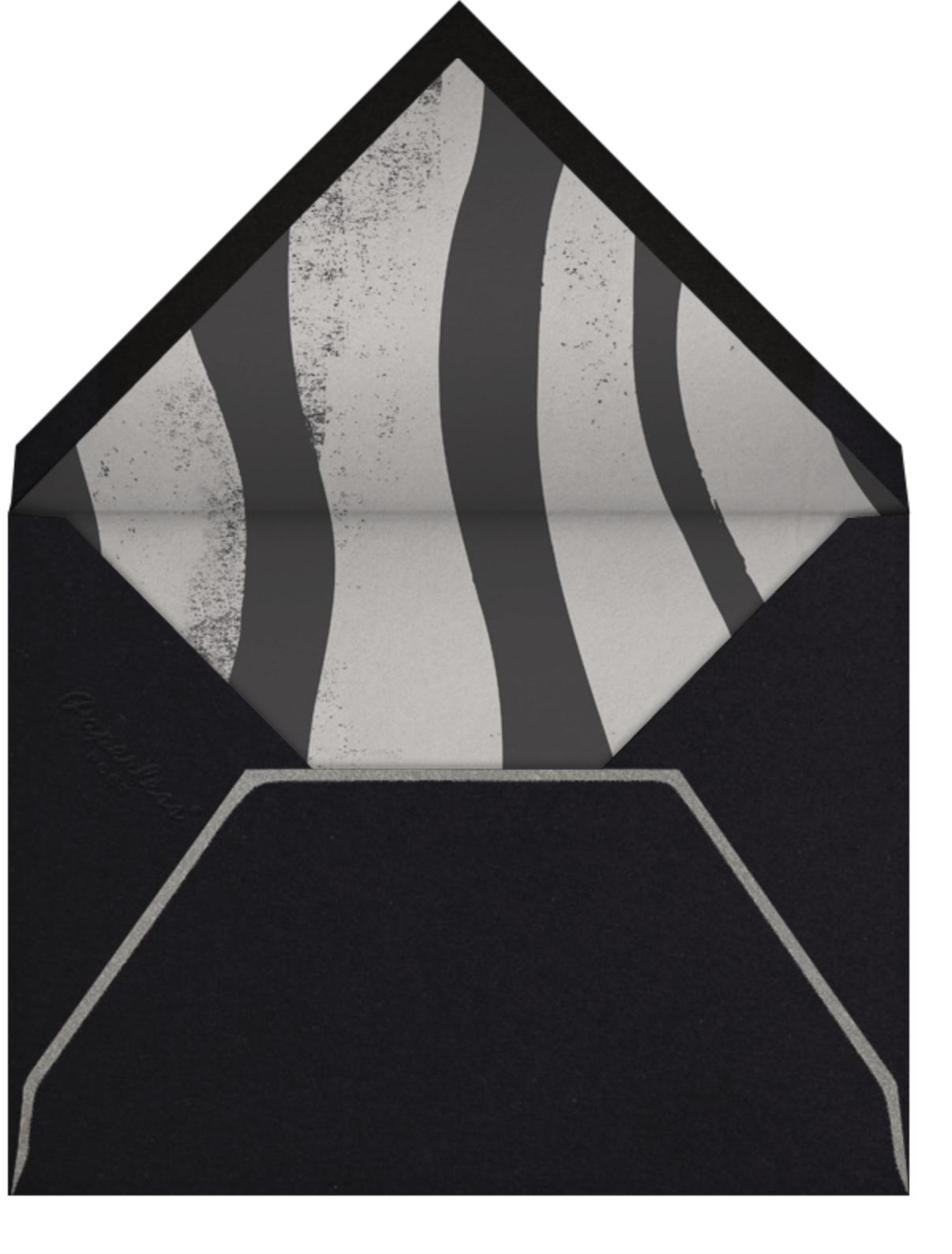 Silver Skull - Paperless Post - Envelope