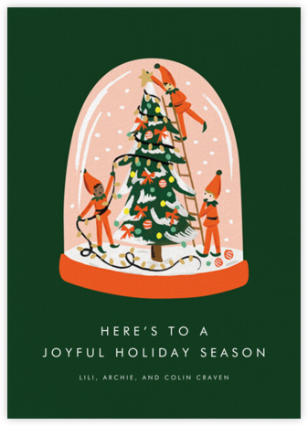 Elf Assembly Required - Rifle Paper Co. - Christmas Cards