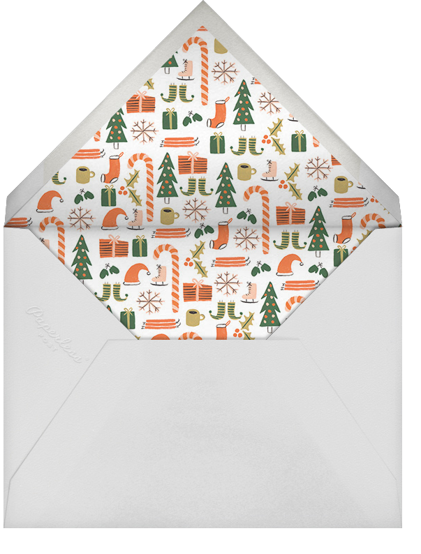 Elf Assembly Required - Rifle Paper Co. - Christmas - envelope back