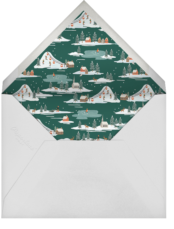 Global Citizen - Rifle Paper Co. - Holiday cards - envelope back
