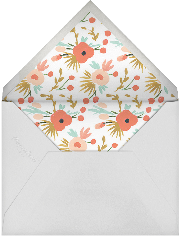 Floral Burst - Rifle Paper Co. - Birthday - envelope back