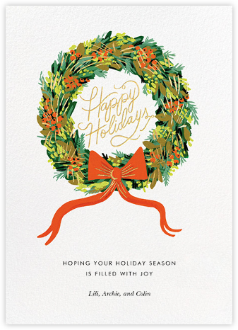 Wintergreen Holiday - Rifle Paper Co. - Rifle Paper Co.
