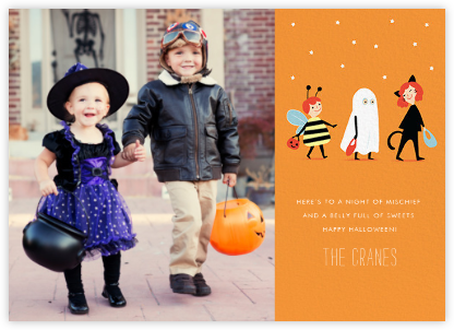 Costume Parade (Photo) - Paperless Post - Halloween cards