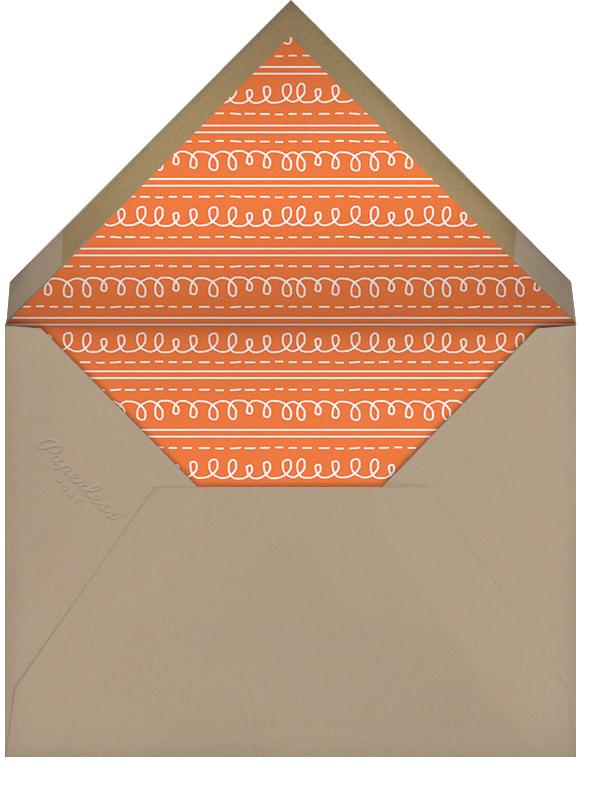 Turkeyscape - Paperless Post - Autumn entertaining - envelope back