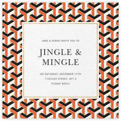 Maurits - Jonathan Adler - Holiday invitations