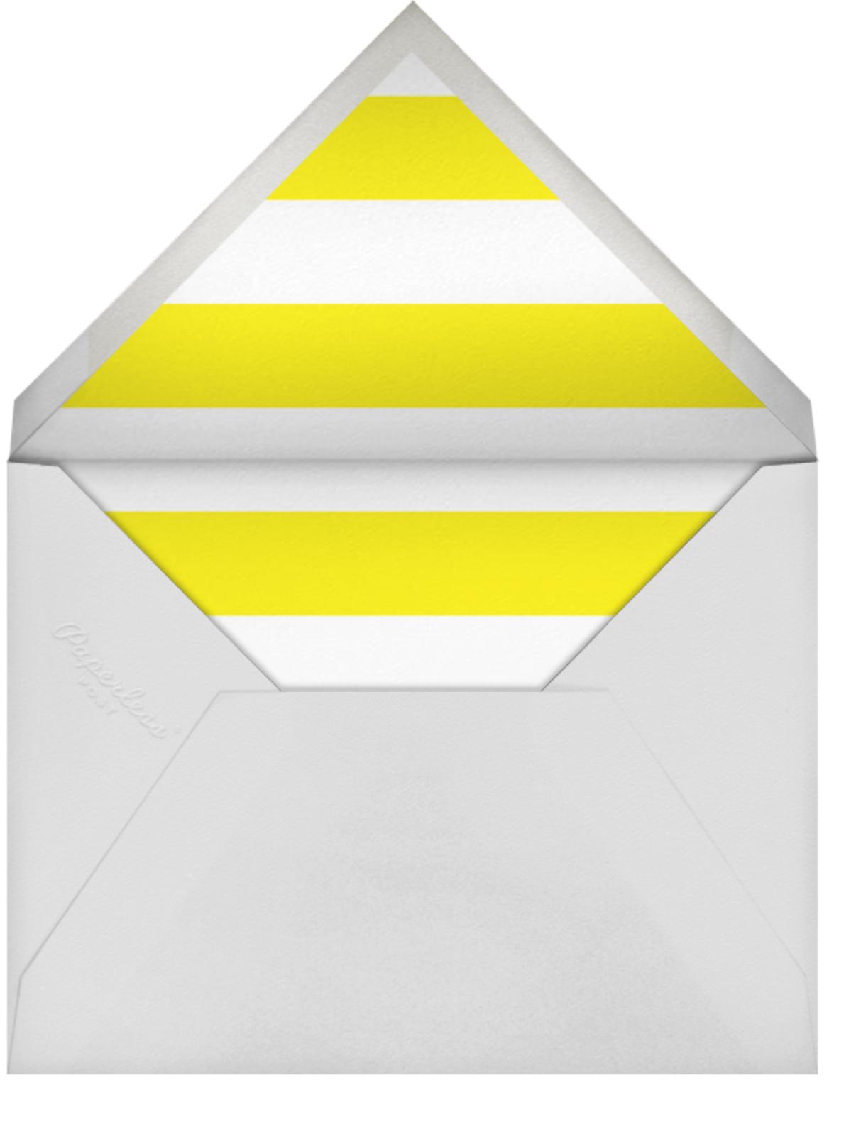 Yellow Poppies - kate spade new york - Adult birthday - envelope back