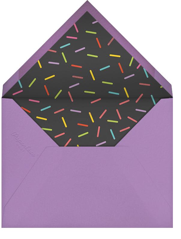 Idylle - Caviar/Rose Gold - Paperless Post - Adult birthday - envelope back