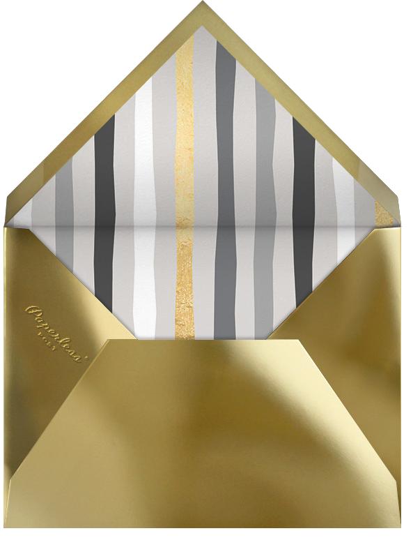 Present Company - Gold - Cheree Berry Paper & Design - Envelope