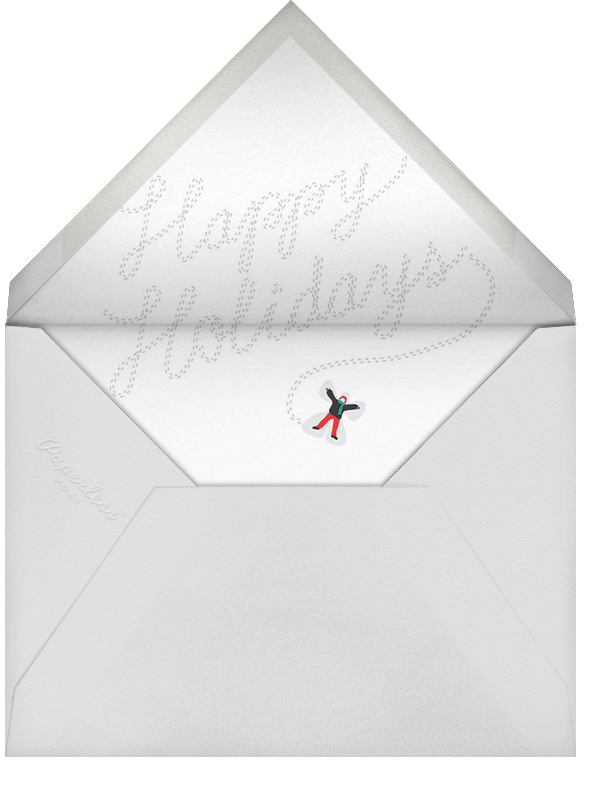 Holidays on Ice - Cheree Berry - Holiday cards - envelope back