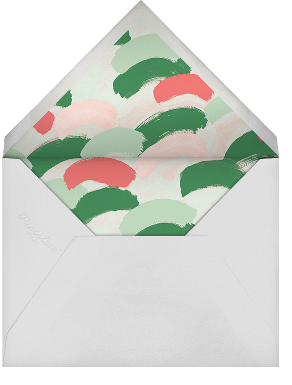 Dappled (Photo) - Green/Gold - Ashley G - null - envelope back