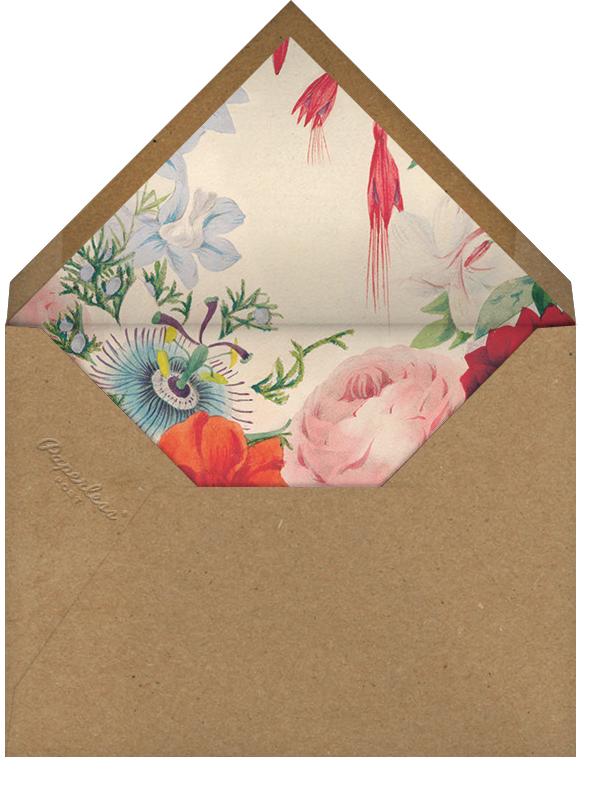 Spring Medley (Save the Date) - John Derian - Save the date - envelope back