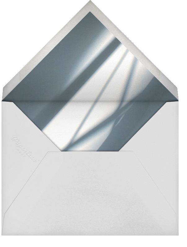 Idylle - White/Silver - Paperless Post - Bridal shower - envelope back