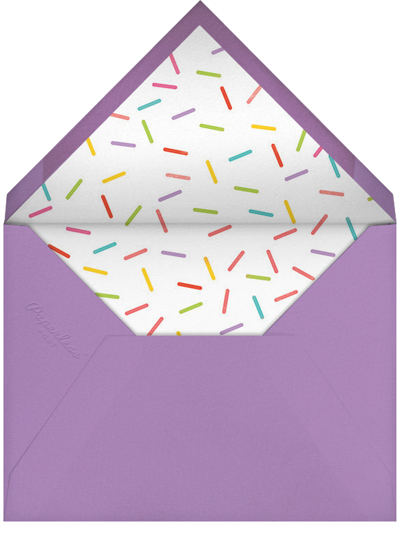 Idylle (Photo) - Rose Gold - Paperless Post - Adult birthday - envelope back