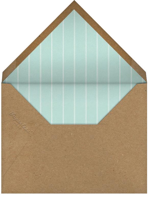 Diamond Ring - John Derian - Engagement party - envelope back