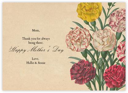 Dianthus (Greeting) - John Derian -