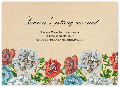 Floral Thicket (Invitation) - John Derian -