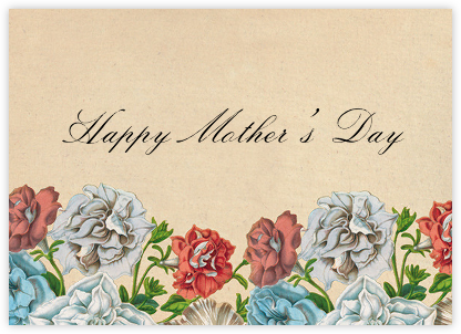 Floral Thicket (Greeting) - John Derian - Mother's Day Cards