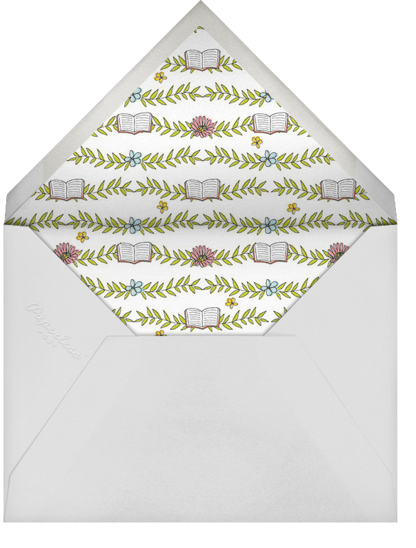 Chapter One - Cheree Berry - Baby shower - envelope back
