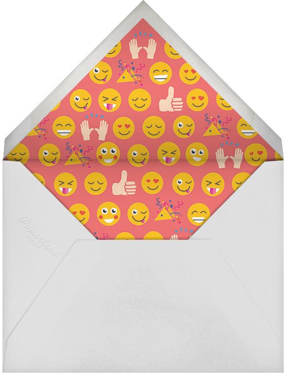 Partymojis - Fair - Cheree Berry - Kids' birthday - envelope back
