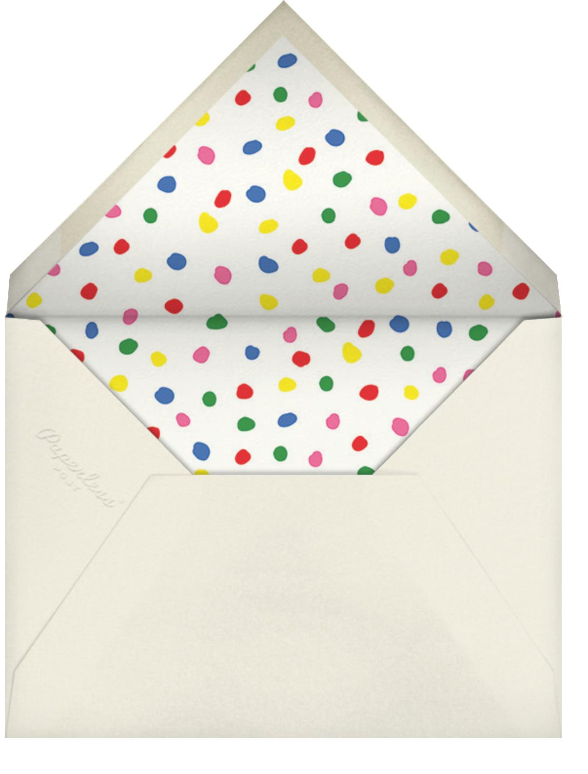 Take the Cake - Cheree Berry - Kids' birthday - envelope back