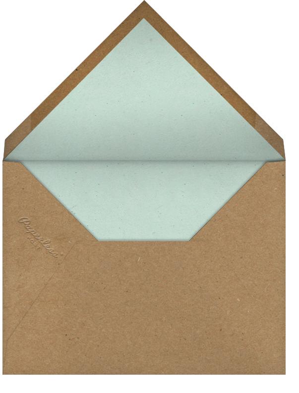 Peacock Plumage - John Derian - Cocktail party - envelope back
