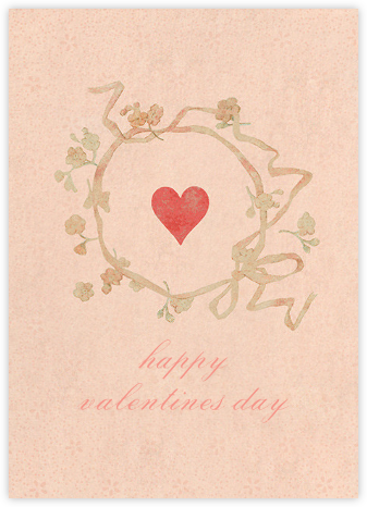 Tangled Heart - John Derian - Valentine's day cards