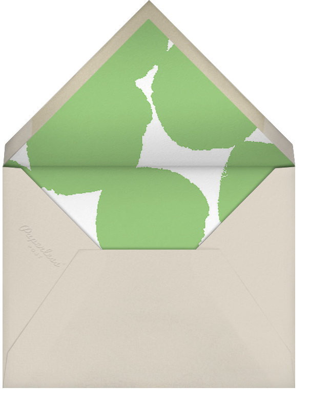 Help Yourself - Paperless Post - Thanksgiving - envelope back