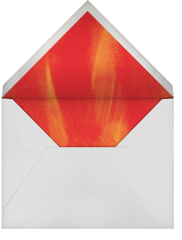 Falling Leaves - Paperless Post - Thanksgiving - envelope back