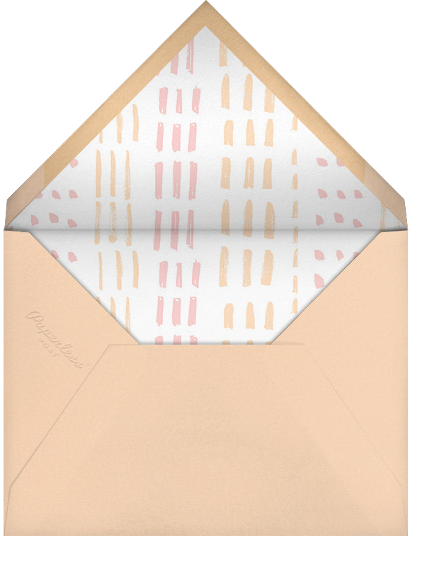Feathered Float - Paperless Post - Thanksgiving - envelope back