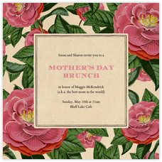 Mother S Day Invitations Online At Paperless Post